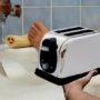 Broodrooster in bad gevaarlijk