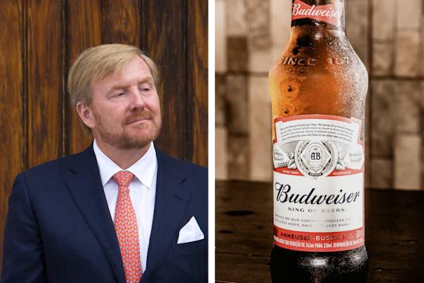 Koninklijk Huis ruziet met Budweiser over slogan 'King of Beers'