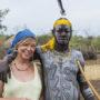 Opvallende vakantieliefde: Chantal en Ngmpfndbo