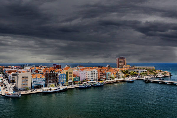 Temperatuur op Curaçao daalt 5 graden na aankomst Bridget Maasland