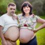 Dirk en Anette zijn sámen zwanger