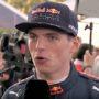 """Max Verstappen: """"Ik ging vet hard!"""""""