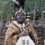 Koning van Nambia bedankt Donald Trump