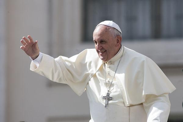 Paus Franciscus komt met bidcoin