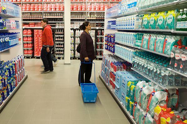 Steeds meer supermarktklant te lui om mandje te tillen