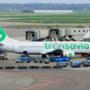 Vliegtuig Transavia veilig geland