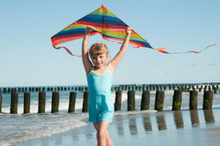 vlieger-strand-spelen